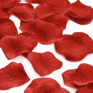 Płatki róż dekoracyjne - Czerwone płatki róż