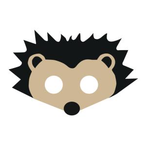 Maski Zwierzęta - Maska filcowa Jeżyk