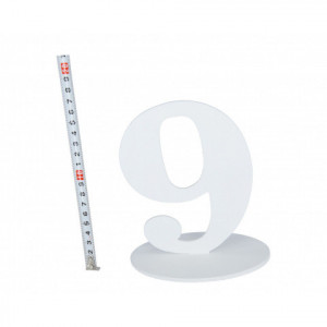 """Numery na stół - Cyferka drewniana """"9"""""""