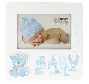 """Ramki na zdjęcia - Ramka """"Baby"""", niebieska / 15x10 cm"""