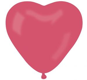 Balony lateksowe o nietypowych kształtach - Balony lateksowe CR6 czerwone Serca